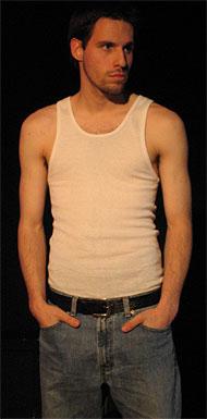 [Man in undershirt]