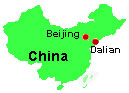 [Map shows location of Dalian]