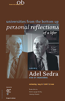[Poster shows Sedra in mirror image]