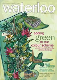 Cover of UW Magazine spring 2006