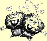 [Cartoon muffins]