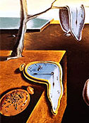 [Dali, 'The Persistence of Memory', detail]