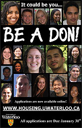 [Be a Don flyer]