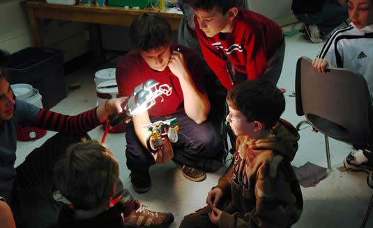 ESQ campers 2008 March break