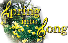 Spring into Song poster fragment