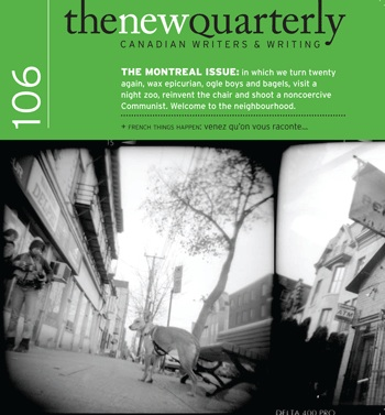 New Quarterly issue 106 cover