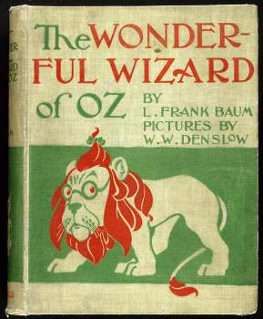 Wizard of Oz origianl book cover