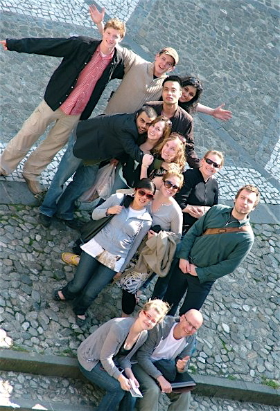 UW drama students in Calabria 2009