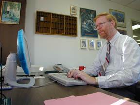 Daily Bulletin founding editor Chris Redmond.
