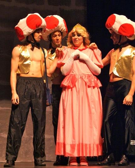 FASS 2010 Princess Peach and Mushroom Kingdom entertainers