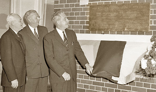 Opening of the Physics Building, Feb 10, 1960