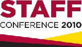 [Staff conference logo]