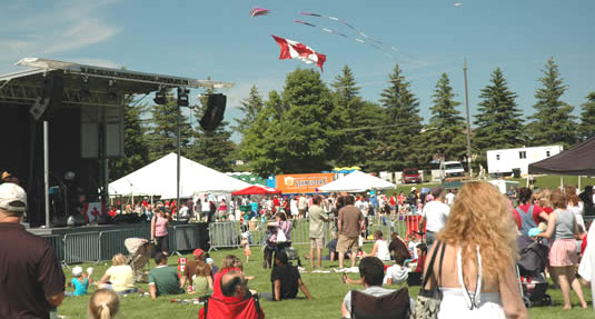 [Panorama from Canada Day 2008]