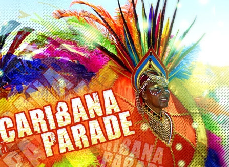 poster for Caribana parade