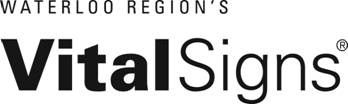 The logo for Waterloo Region's Vital Signs 2010 community survey