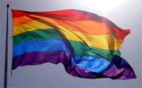 [Pride flag]