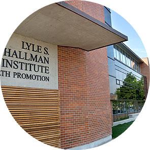 [Hallman Institute sign]