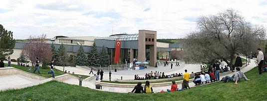 [Building and landscape at METU]