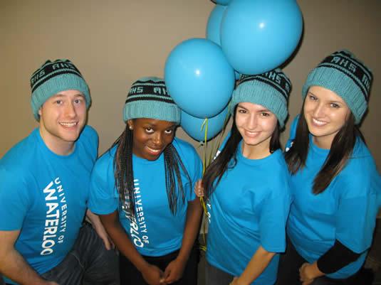 AHS March Break Open House volunteers.