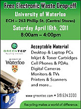 [E-waste dropoff Saturday]