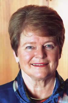 Dr. Gro Harlem Brundtland.