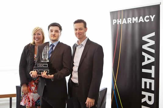 Scotiabank Pharmacy Entrepreneurship Competition award winner photo.