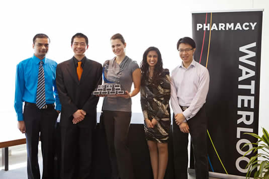 Pharmasave Industrial Case Study Competition award winners photo.