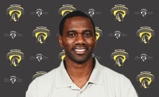 Waterloo basketball coach Greg Francis.