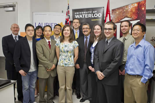Waterloo-area Early Researcher Award winners.