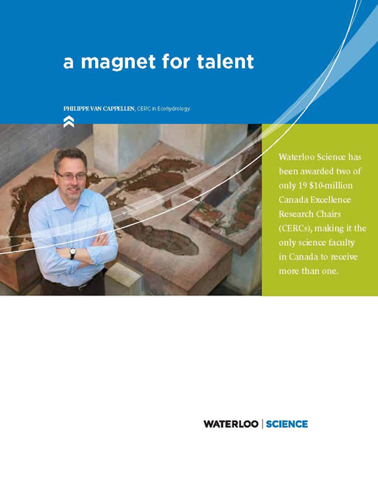 front cover of A Magnet for Talent  science brochure