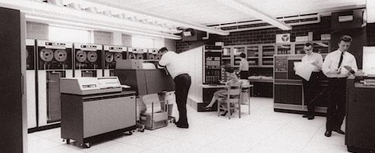 Undated computer lab photo.