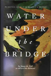 The cover of Water Under The Bridge by Chris Redmond.