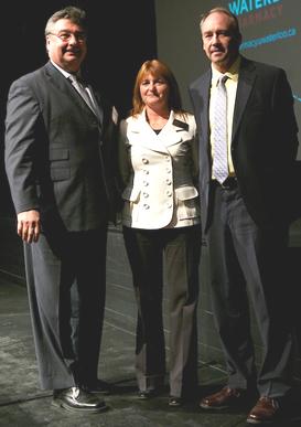 Marshall Moleschi, Nancy Waite, and David Edwards.