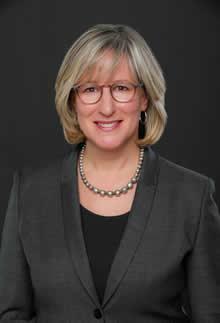Sandra Banks, the University of Waterloo's Vice-President, University Relations.