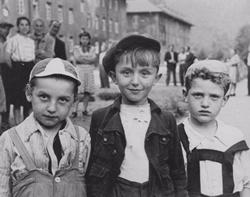 Three displaced children.