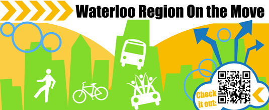 Waterloo Region on the Move event graphic.