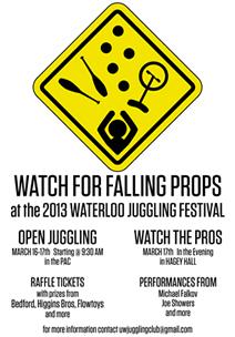 Juggling Festival Poster.