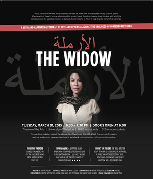 The Widow poster.