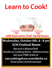 Cooking Show poster.