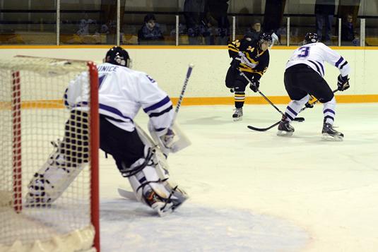 Brian Behenna, hockey forward.