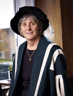 The seventh president of St. Jerome's University, Katherine Bergman.