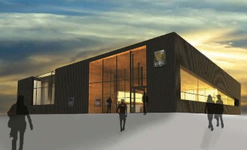 Concept art for the winning sustainable design project.