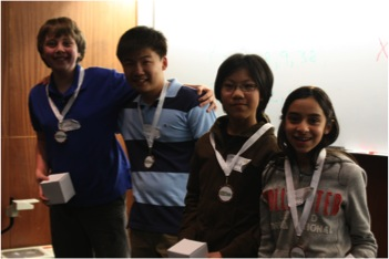 Students at the 2011 All-Science Challenge.