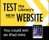 Test The Library's Website.